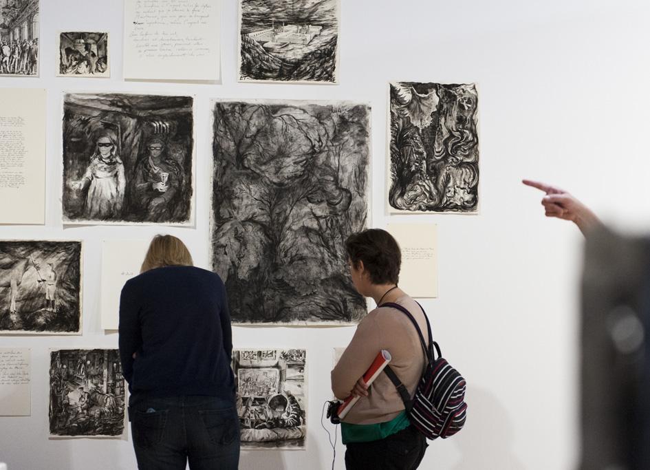 Andreas Chwatal, Ausstellungsansicht. Foto: Lenbachhaus, München