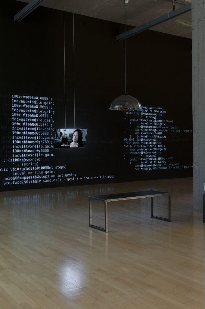 Franz Wanner, Dual-Use, 5-Kanal-Videoinstallation, Dual-Use I–V, 2016. Foto: Lenbachhaus, München.Courtesy der Künstler