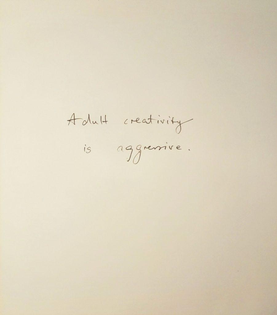Andreas Chwatal, T1 / E21 Entgrenzung nach Frankreich, 2016, Tusche auf Papier, 39,3 x 34,4 cm
