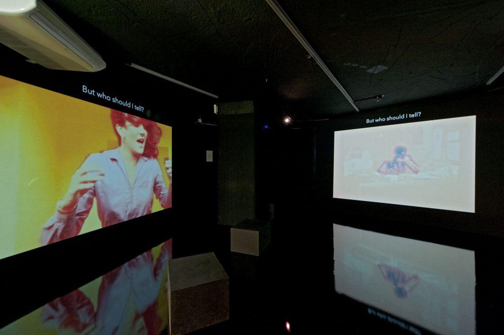 """Babylonia Constantinides, """"Radiation Room"""", 2016, Installationsansicht, Foto: Städtische Galerie im Lenbachhaus und Kunstbau"""