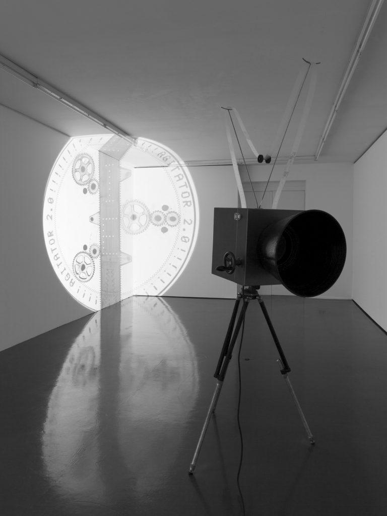 Agitator 2.0, Ausstellungsansicht Badischer Kunstverein 2014